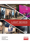 LED light boxes brochure